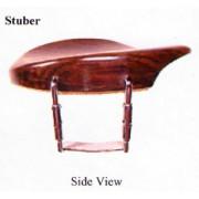 VC06Ru-4/4 Подбородник для скрипки, модель Stuber. Форма крепления - U. Материал - палисандр. WBO