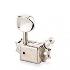 10160123.12.62 Original F-Series ST6B Комплект одиночной колковой механики, 3л+3п, хром, Schaller