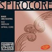 S42 Spirocore Комплект струн для контрабаса размером 4/4, оркестровые, Thomastik