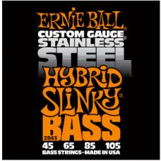 Струны Ernie Ball Stainless Steel Hybrid Slinky Bass 45-105 (2843)