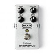 M89 MXR Bass Overdrive Педаль эффектов, басовая, Dunlop