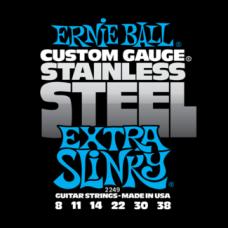 Струны Ernie Ball Stainless Steel Extra Slinky 8-38 (2249)
