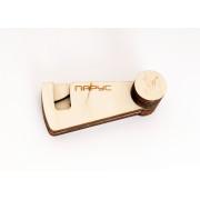 HV15 Чехол деревянный для варгана Парус, Мастерская Глазырина