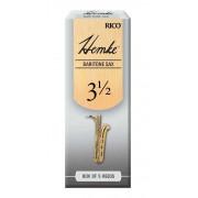 RHKP5BSX350 Hemke Трости для саксофона баритон, размер 3.5, 5шт, Rico