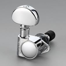 Колки Schaller M6 Vintage Toplocking 3+3, Хром (10120223.13)