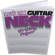Тетрадь с изображениями пустых гитарных грифов Ernie Ball (P07020)