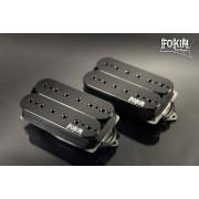 Комплект звукоснимателей Fokin Majestic, черный 53 мм
