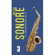 FR19SA14 Sonore Трости для саксофона альт № 3 (10шт), FedotovReeds