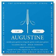 Струны Augustine Classic Blue, clear nylon, medium (Classic-BLUE)