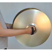 SOC-02 Ремни для оркестровых тарелок кожаные, Мозеръ