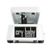 105Q Bass Wah Педаль эффектов басовая, белая, Dunlop