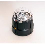MM005U Светодиодный эффект «диско-шар» мини, 4х1Вт, Bi Ray