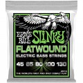 Струны Ernie Ball Flatwound Cobalt 5-String Bass 45-130 (P02816)