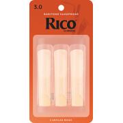 RLA0330 Rico Трости для саксофона баритон, размер 3.0, 3шт, Rico