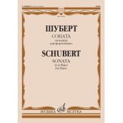 14168МИ Шуберт Ф. Соната ля мажор для фортепиано, Издательство