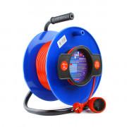 PC-B1-K-30 PowerCube Удлинитель на катушке 10А/2,2 кВт 30м, Электрическая мануфактура