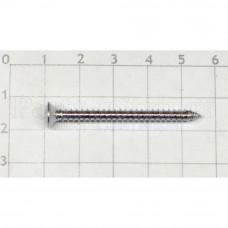 Саморез Hosco для крепления грифа, 4х45мм, хром (TS-03C)