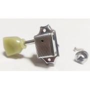 Колки Jinho (Guitar Technology), для LP и SG, головка пластик, 3+3, никель (Jinho.J44CR)