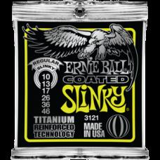 Струны Ernie Ball Coated Titanium Slinky 10-46 (3121)