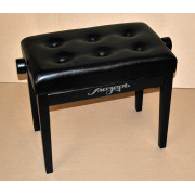 BPM-25/BK Банкетка для пианино или рояля деревянная, Мозеръ