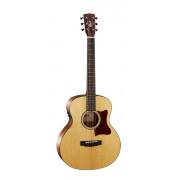 Little-CJ-Walnut-OP-BAG CJ Series Электро-акустическая гитара 3/4, цвет натуральный, Cort