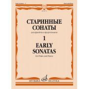 09715МИ Старинные сонаты – 1. Для флейты и фортепиано /сост. Должиков Ю., издательство