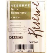 DKR0240 Reserve Трости для саксофона тенор, размер 4.0, 2шт, Rico