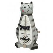 839021 Taktell Cat Метроном механический, без звонка, кот, Wittner