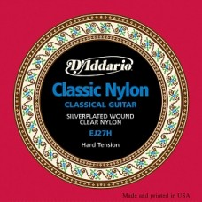 Струны D'Addario Classic Nylon Student Hard (EJ27H)