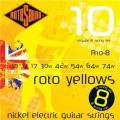 Струны Rotosound 8-String Nickel Set 10-74 (R10-8)