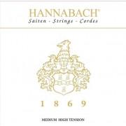 1869MHT 1869 Комплект струн для классической гитары, средне-сильное натяжение, Hannabach