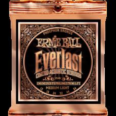 Струны Ernie Ball Everlast Coated Phosphor Bronze Acoustic 12-54 (2546)