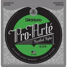 Струны D'Addario Classic Nylon Moderate (EJ29)