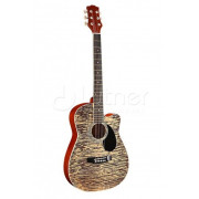 Акустическая гитара Homage 38, цвет пестрый (LF-3800CT-N)