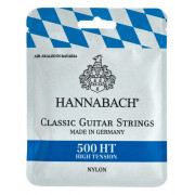 500HT Комплект струн для классической гитары, посеребренная медь, сильное натяжение, Hannabach