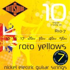 Струны Rotosound 7-string Nickel Regular 10-56 (R10-7)