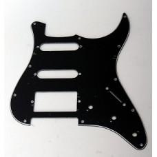 Панель (pickguard) для электрогитары S-S-H, трехслойная черная (H-1002E)
