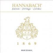 1869HT 1869 Комплект струн для классической гитары, сильное натяжение, Hannabach