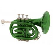 JP159GR Труба Bb компактная, зеленая, John Packer