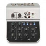 MIX02-1A Мини-микшерный пульт, 6 каналов, Soundking