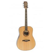 Акустическая гитара Excalibur полноразмерная цвет натуральный (EF(CF)-6021FM )