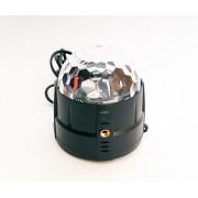 MM001 Светодиодный эффект «диско-шар» мини, 3х1Вт, Bi Ray