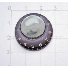 Ручка регулировки GF (Guitar Factory), Черный KB-160, 1шт