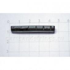 Верхний порожек GF (Guitar Factory), графит, 43.7x7.7x5.3 NTC-11