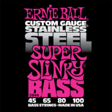 Струны Ernie Ball Stainless Steel Super Slinky Bass 45-100 (2844)