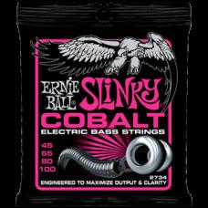 Струны Ernie Ball Cobalt Slinky Bass 45-100 (2734)