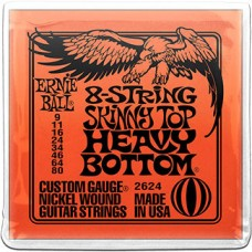 Струны Ernie Ball 8-string Slinky Top Heavy Bottom 9-80 (2624)
