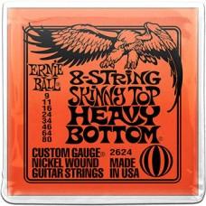 Струны Ernie Ball 8-string Slinky Top Heavy Bottom 9-80 (2624)