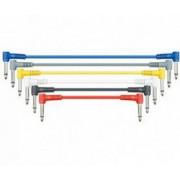 Комплект кабелей LEEM jack-jack 30 см, 6 штук. (CPML-1)