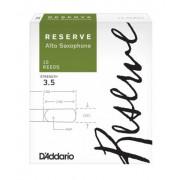 DJR1035 Reserve Трости для саксофона альт, размер 3.5, 10шт, Rico